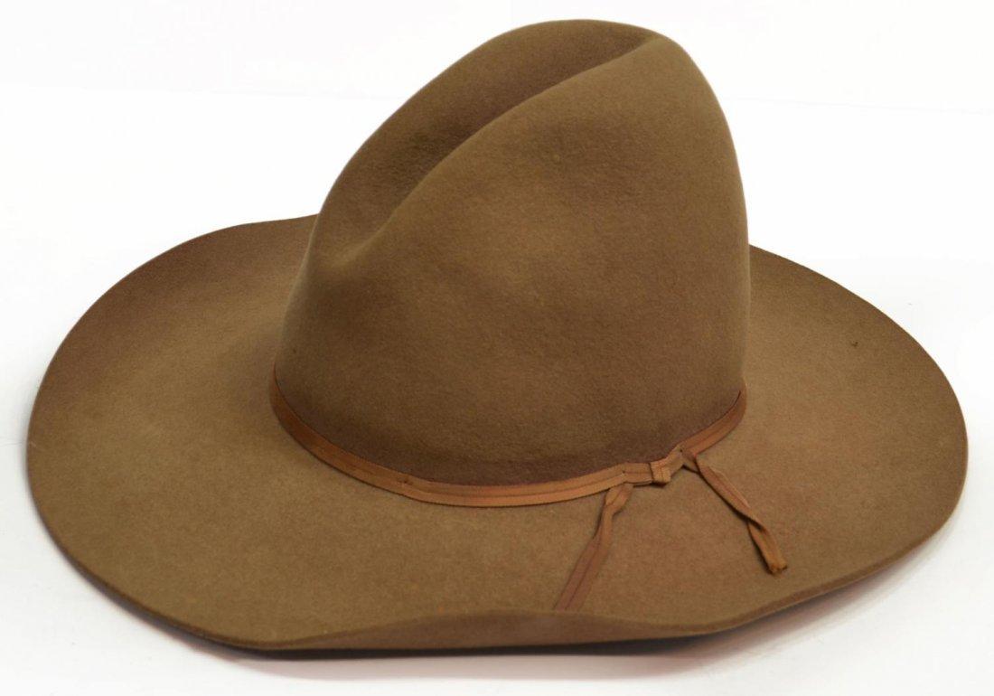 (3) WESTERN COWBOY HATS, TEXAS - 3