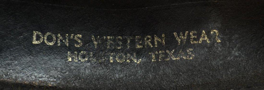 (3) WESTERN COWBOY HATS, TEXAS - 5