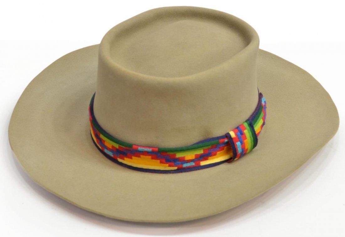 (3) WESTERN COWBOY HATS, TEXAS - 6
