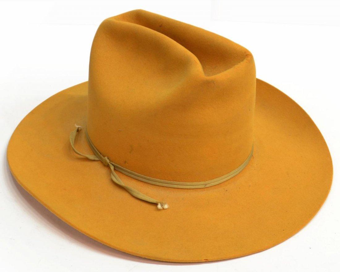 (3) WESTERN COWBOY HATS, TEXAS - 8