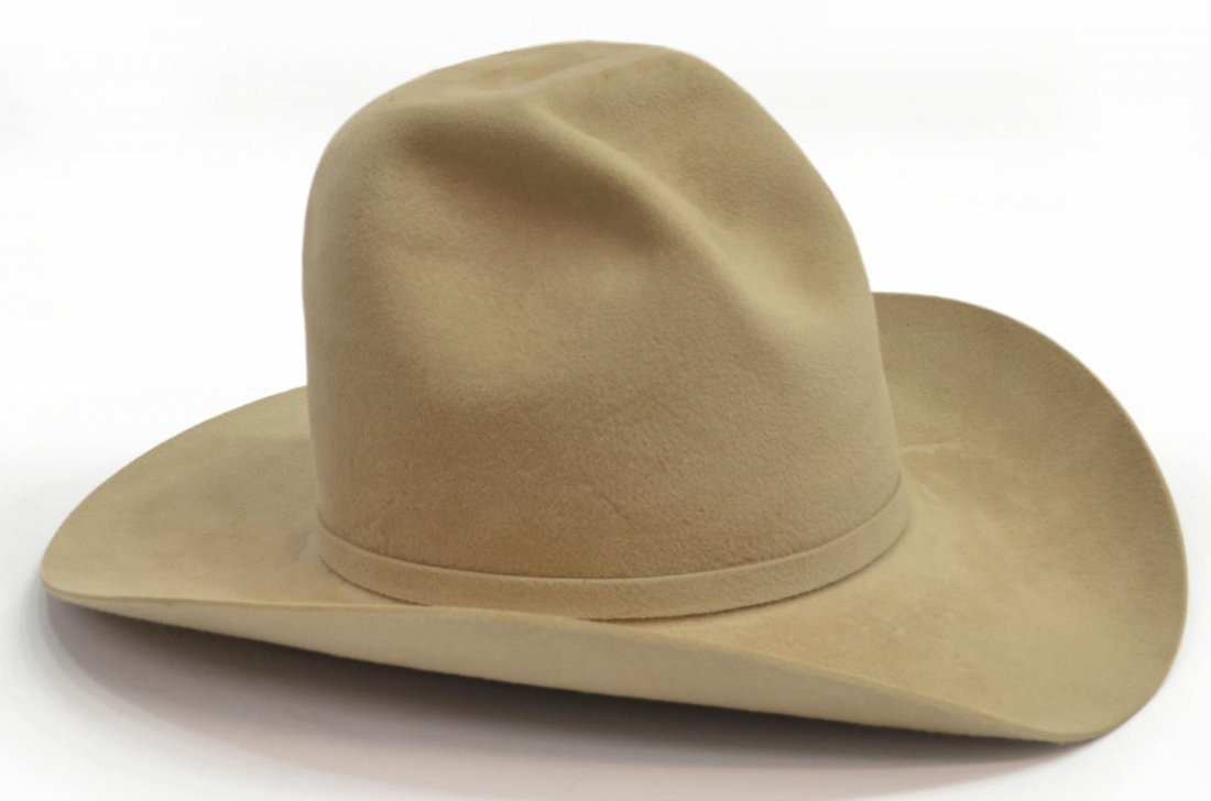 (2)WESTERN COWBOY HATS, ONE RESISTOL TOUCH OF MINK - 2