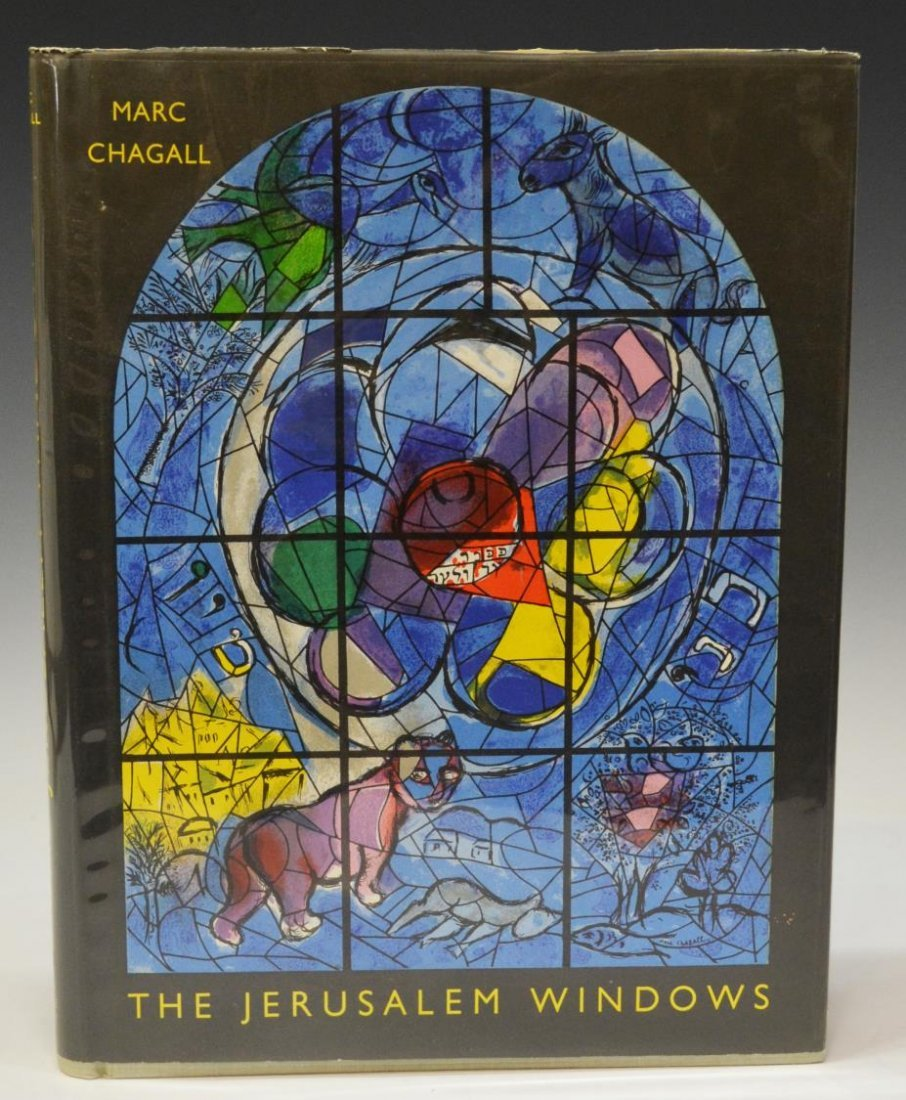 ART BOOK: MARC CHAGALL, 'THE JERUSALEM WINDOWS'