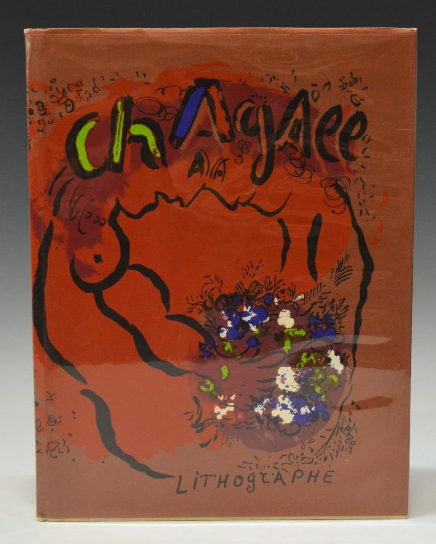 BOOK: THE LITHOGRAPHS OF CHAGALL, PRINTED 1960