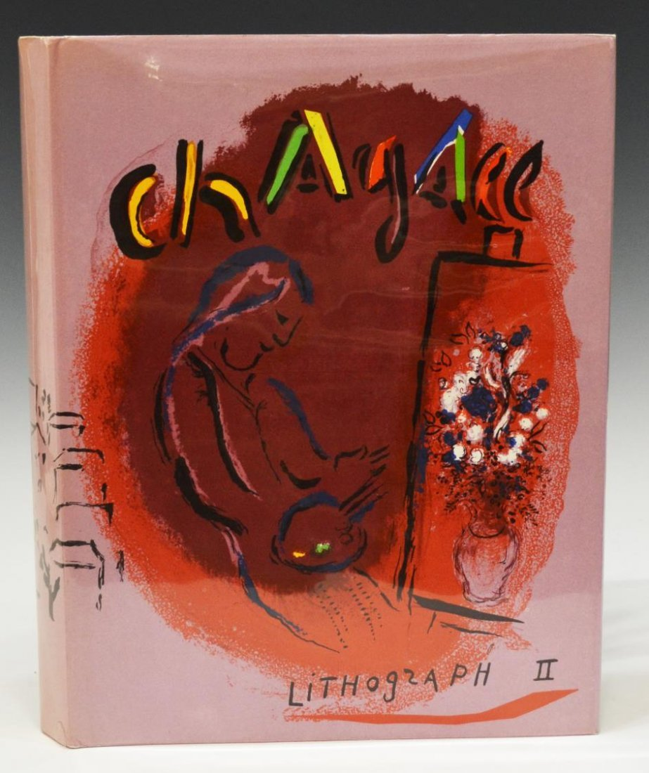 BOOK:THE LITHOGRAPHS OF CHAGALL, 1957-1962, VOL II