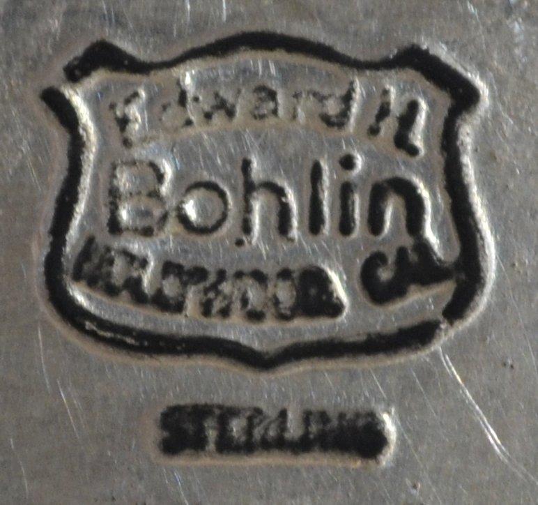 EDWARD H. BOHLIN STERLING LONGHORN BELT BUCKLE - 3