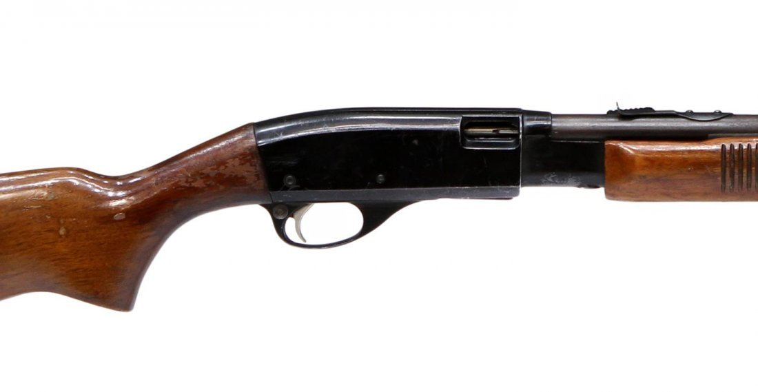 REMINGTON MODEL 572 PUMP RIFLE, .22 S,L,LR