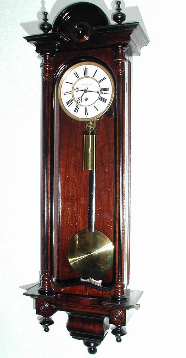 18: 1 SINGLE WEIGHT VIENNA REGULATOR CLOCK, F