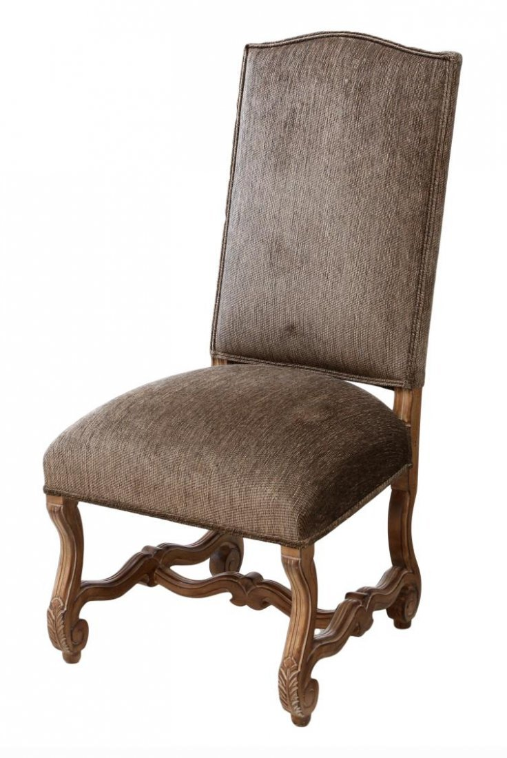 (8) KREISS COLLECTION HIGHBACK DINING CHAIRS - 2