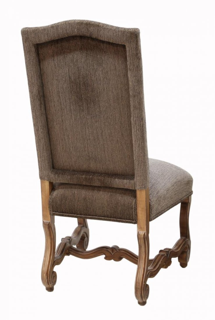 (8) KREISS COLLECTION HIGHBACK DINING CHAIRS - 4