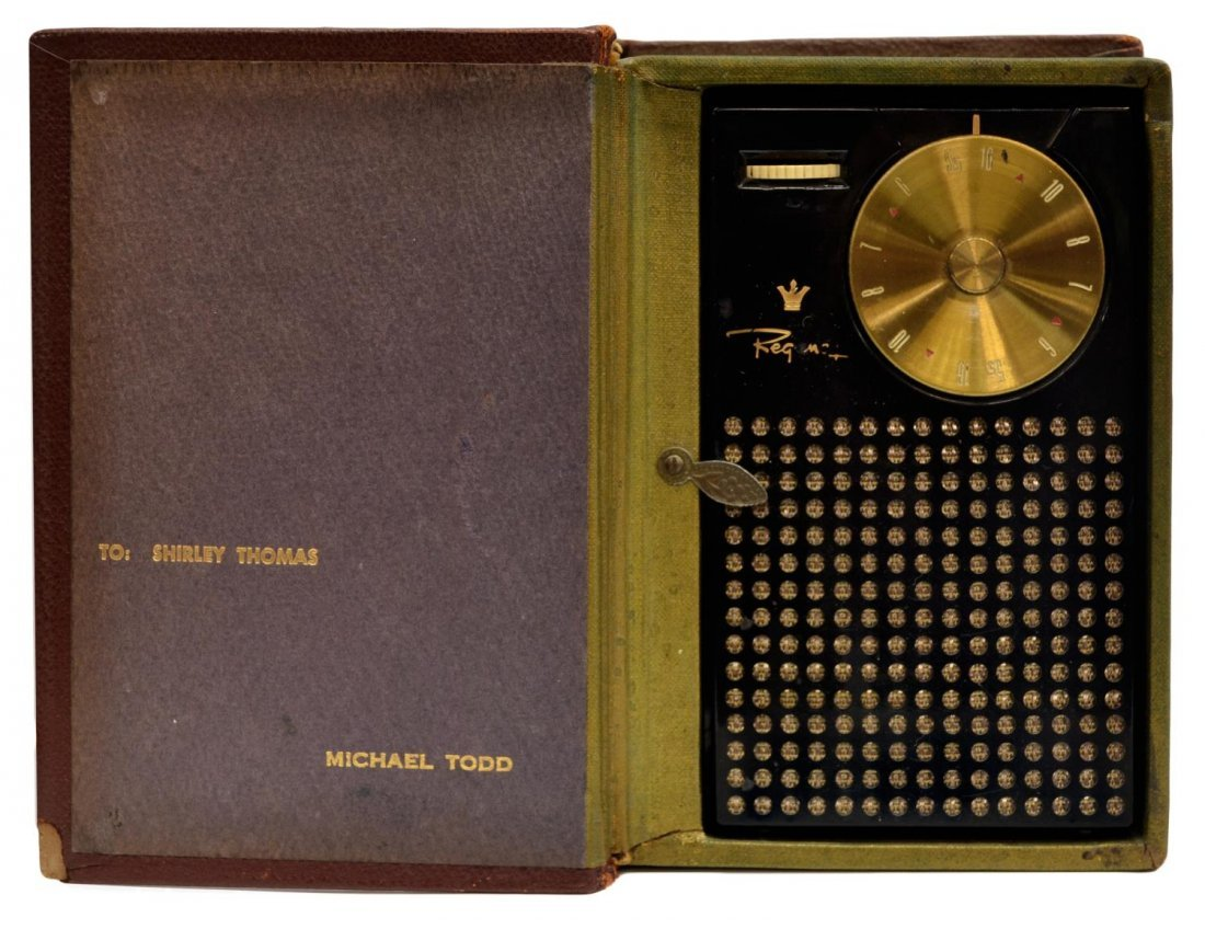 1950'S MICHAEL TODD REGENCY TRANSISTOR RADIO BOOK