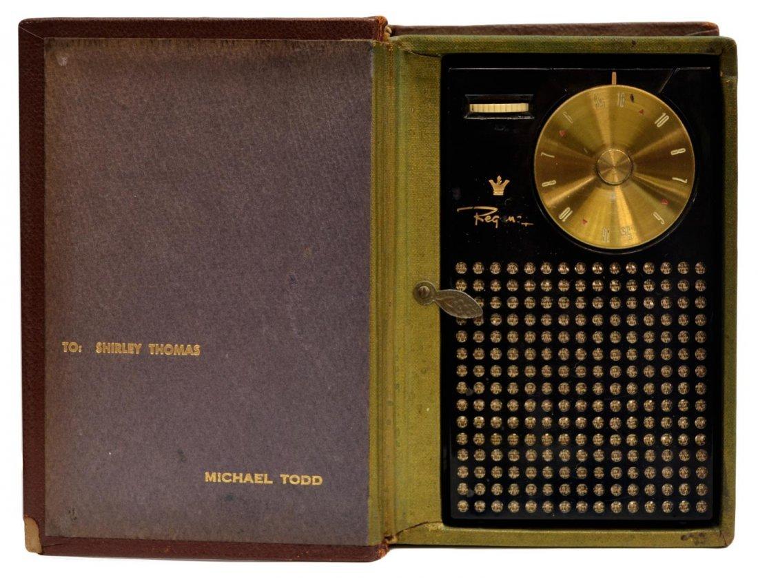 1950'S MICHAEL TODD REGENCY TRANSISTOR RADIO BOOK