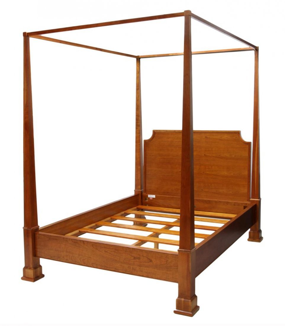 QUEEN SIZE CANOPY POSTER BED, RESTORATION HARDWARE