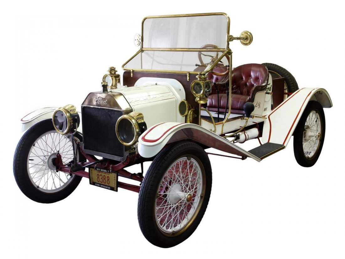 """1911 FORD MODEL T """"TIN LIZZIE"""" AUTOMOBILE"""