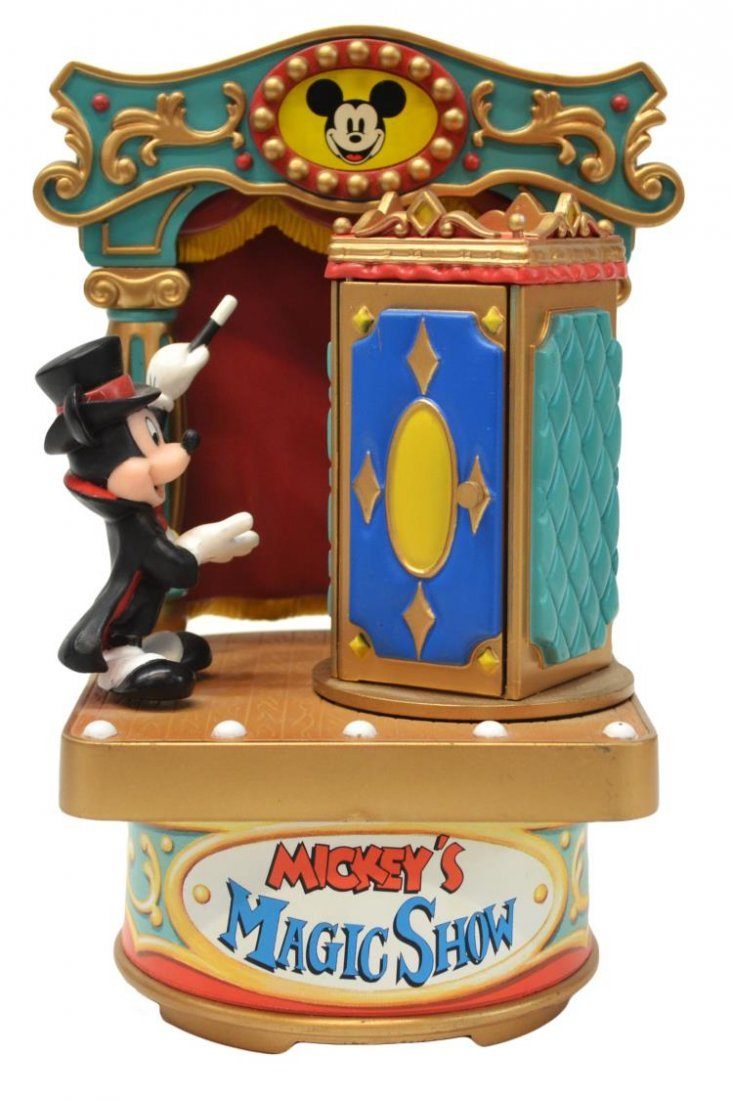 (3) MICKEY MOUSE MUSIC BOX, TALKING BANK TOYS - 2