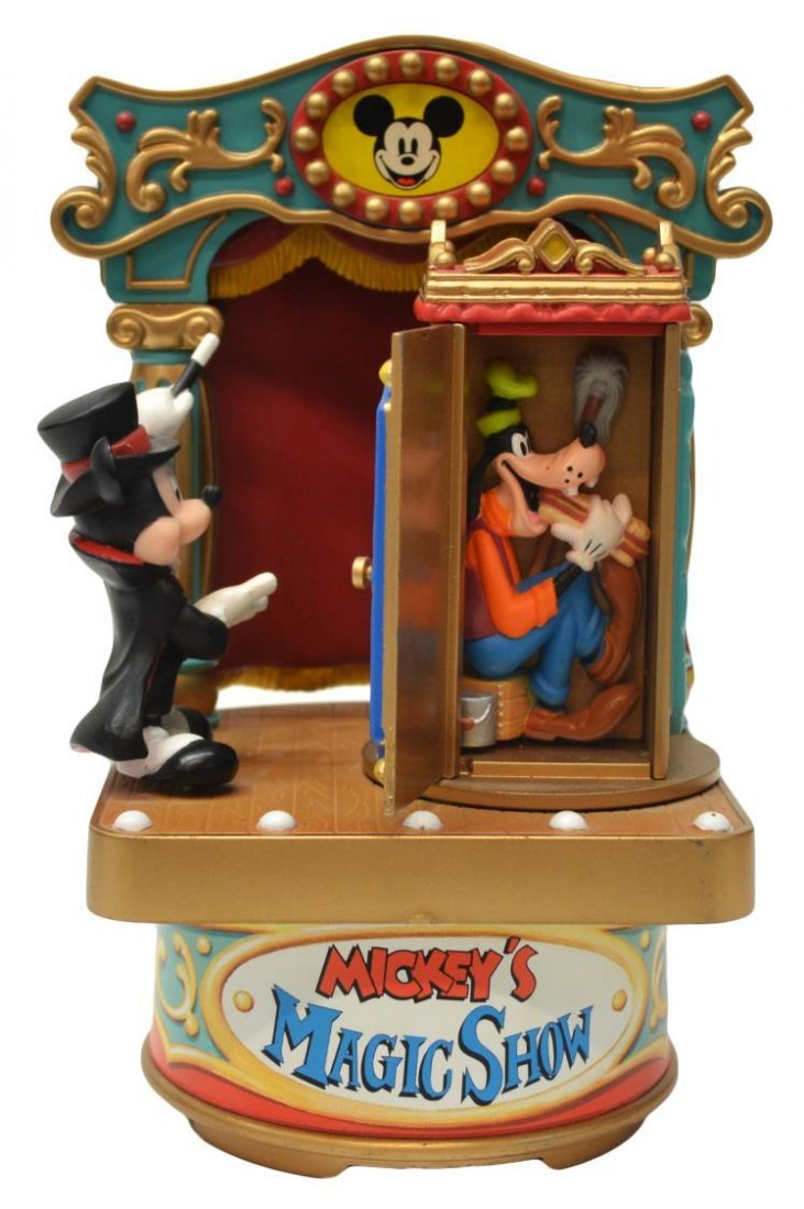 (3) MICKEY MOUSE MUSIC BOX, TALKING BANK TOYS - 3