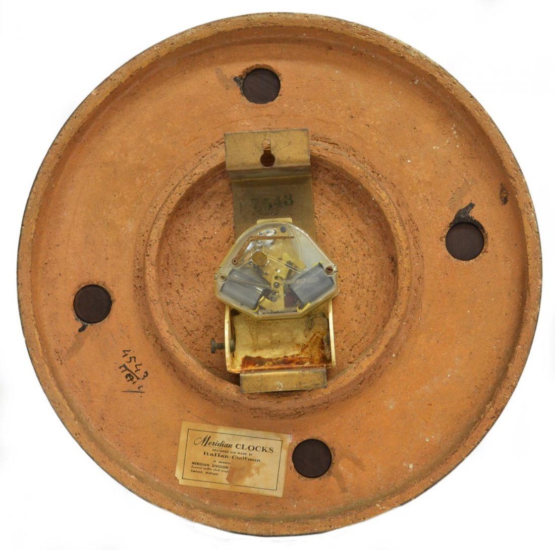 VINTAGE MERIDIAN CLOCK, ITALY, HOWARD MILLER - 4