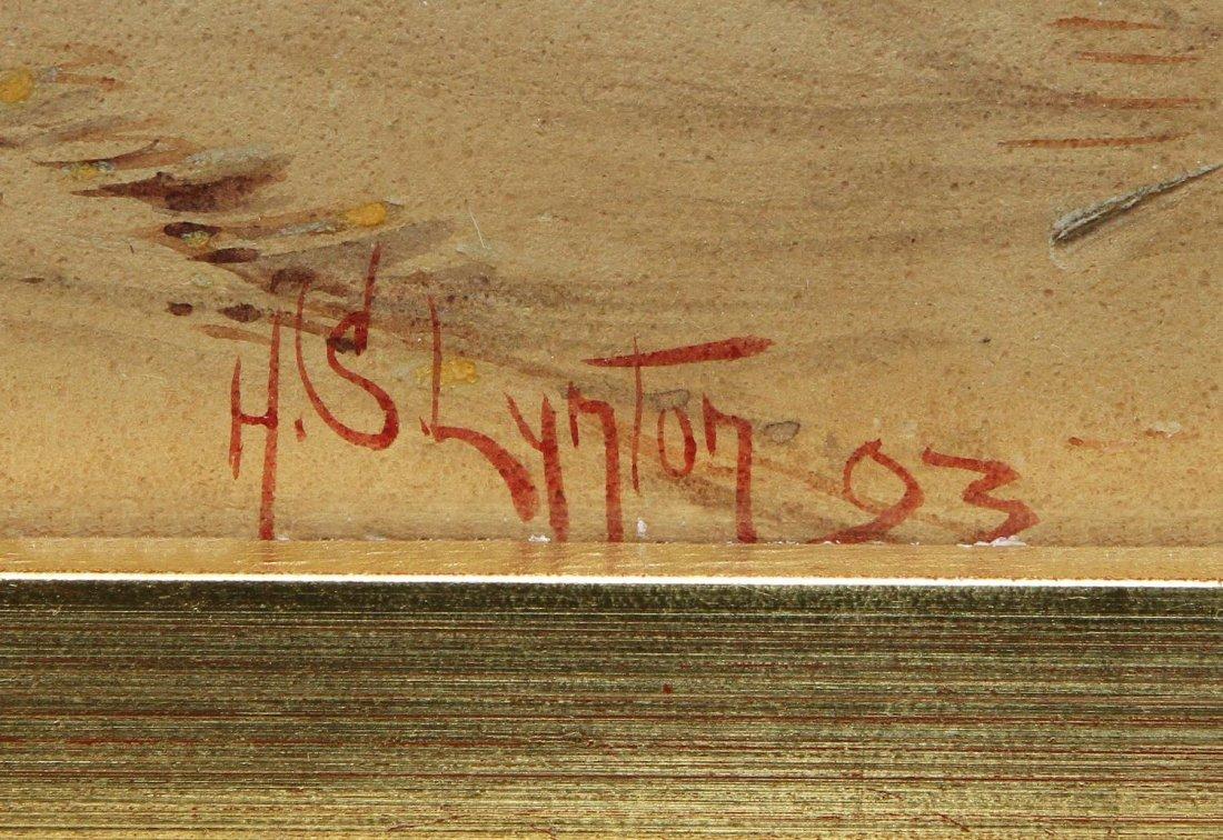 WATERCOLOR, ARABIAN STREET SCENE, H.S. LYNTON - 6