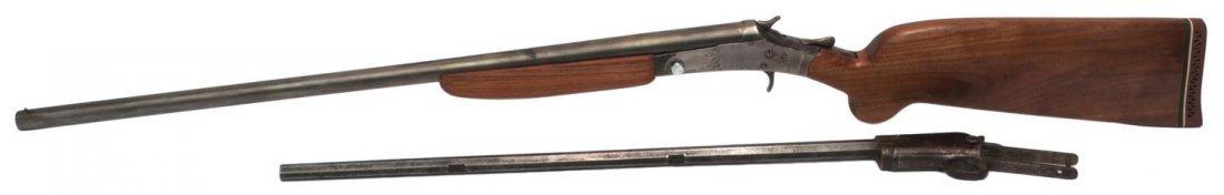 (2) WINCHESTER 1890 & CRESCENT SHOTGUN, PARTS ONLY