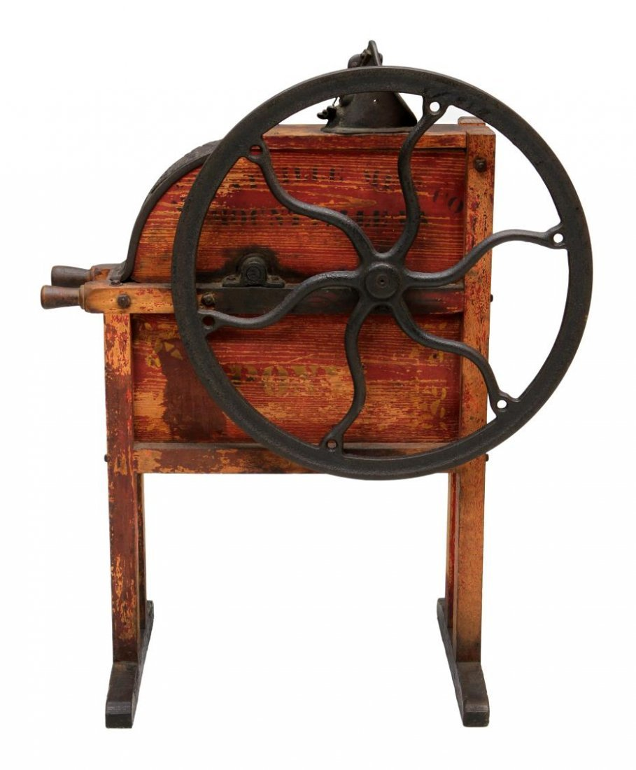 MOUNTVILLE PONY IRON & WOOD CORN SHELLER - 3