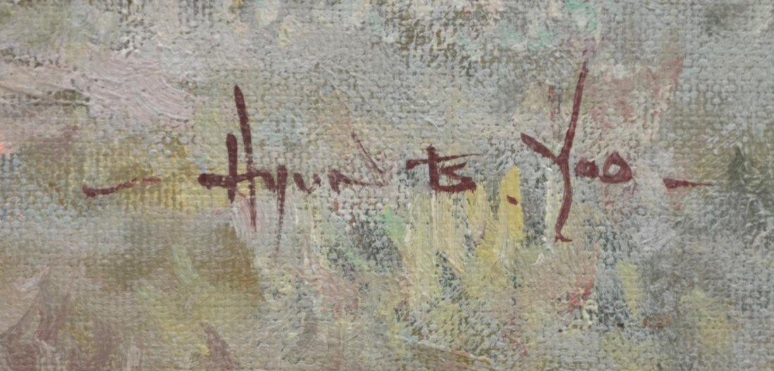 PAINTING, HYUN BO YOO (B. 1946), LANDSCAPE - 4
