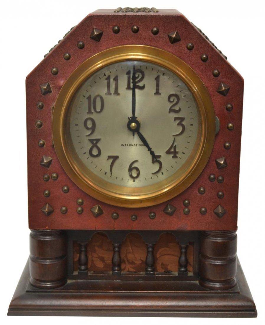 UNUSUAL 1932 IBM ELECTRICAL MANTLE CLOCK