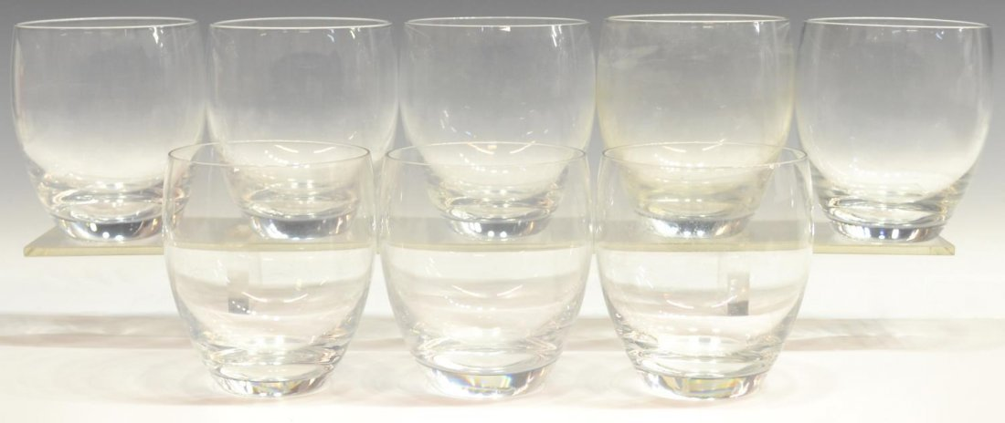 (8) BACCARAT CRYSTAL GLASSES, MONTAIGNE OPTIC