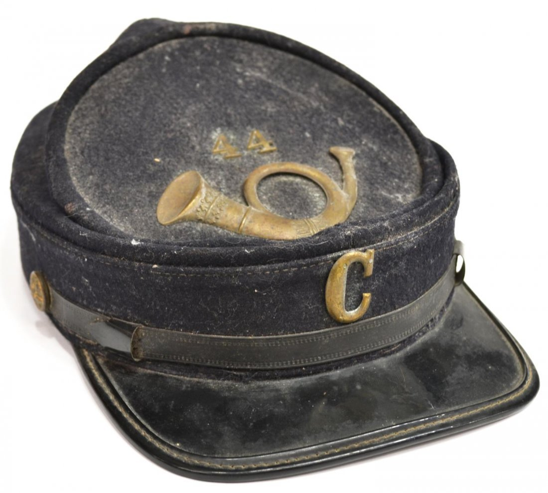 CIVIL WAR VETERAN G.A.R. KEPI, HAT