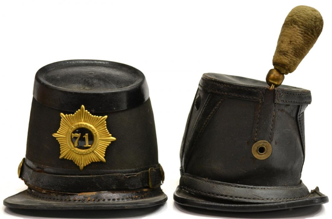 (2) CIVIL WAR & POST WAR UNION SOLDIERS HATS