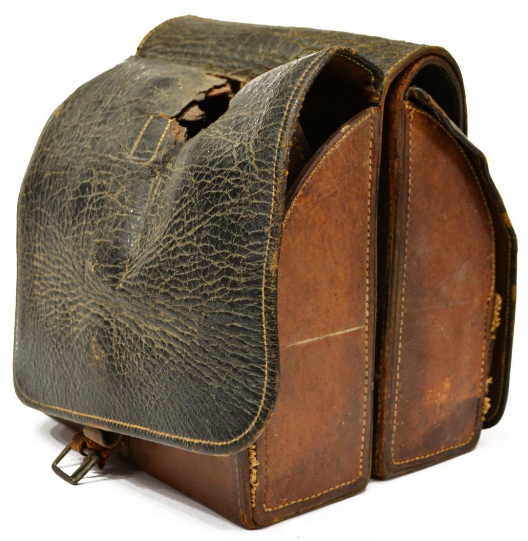 CIVIL WAR, POST CIVIL WAR DOCTOR'S SADDLE BAGS