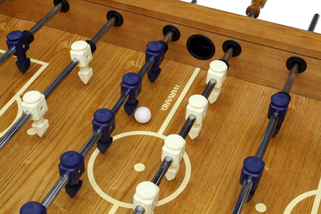 HARVARD FOOSBALL TABLE SOCCER GAME - 5