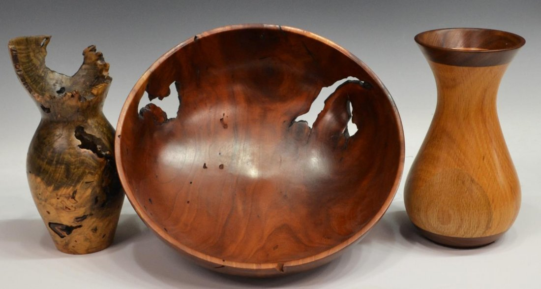 3 american turned wood vases bowl jr blaser 3 american turned wood vases bowl jr blaser reviewsmspy