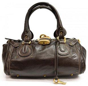979f6a917fa See Sold Price. CHLOE PADDINGTON BROWN LEATHER SHOLDER BAG CHLOE PADDINGTON  BROWN LEATHER SHOLDER BAG