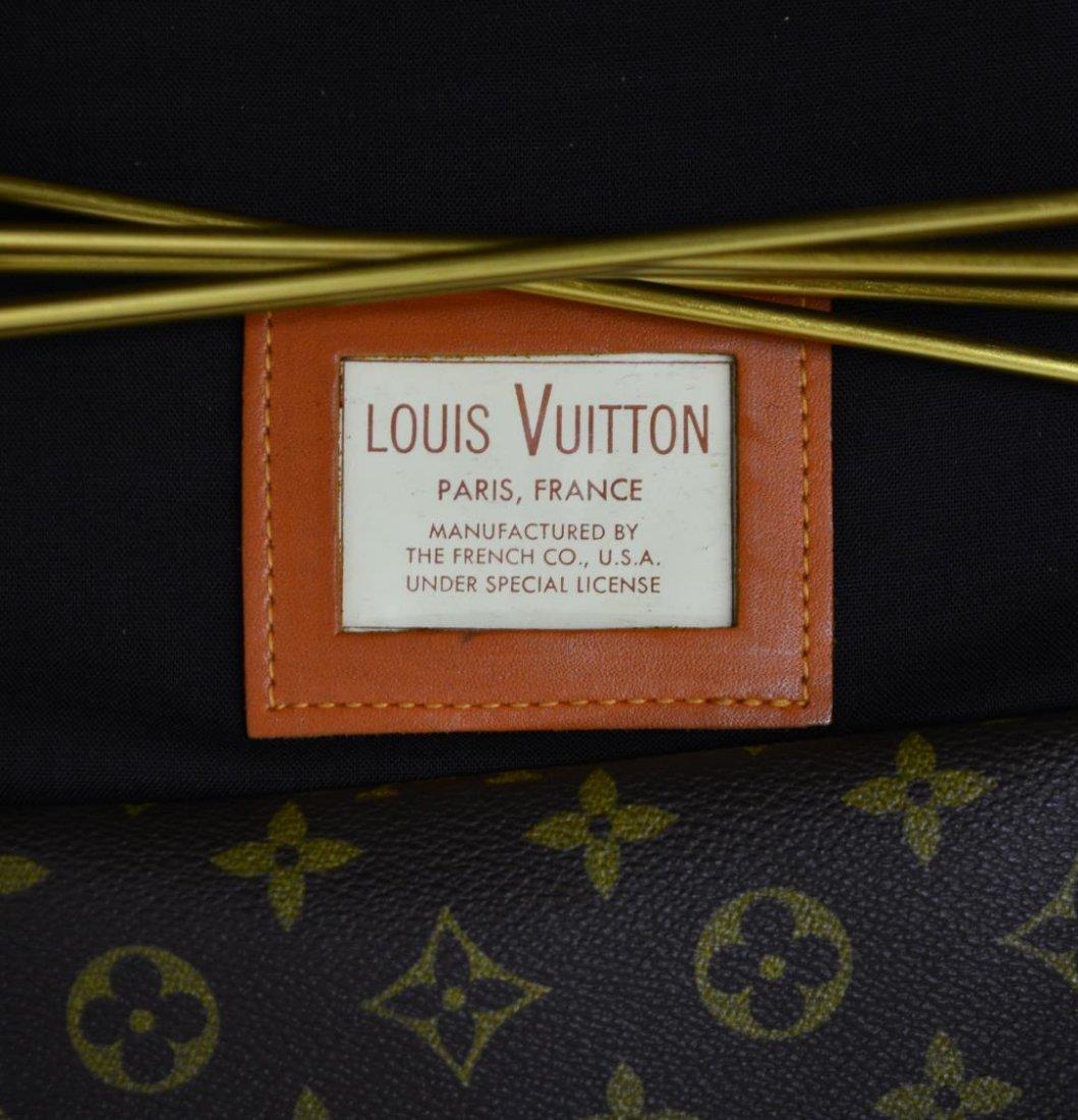 VINTAGE LOUIS VUITTON FRENCH COMPANY GARMENT BAG - 10