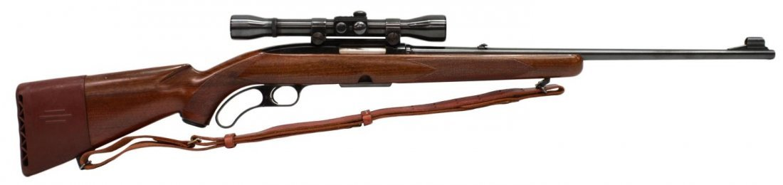WINCHESTER MODEL 88 LEVER ACTION .308 RIFLE, SCOPE - 2
