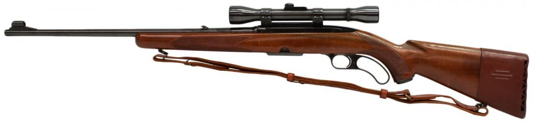 WINCHESTER MODEL 88 LEVER ACTION .308 RIFLE, SCOPE - 3