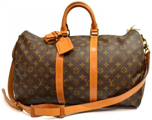 Louis Vuitton Malletier Keepall 45 Duffle Bag