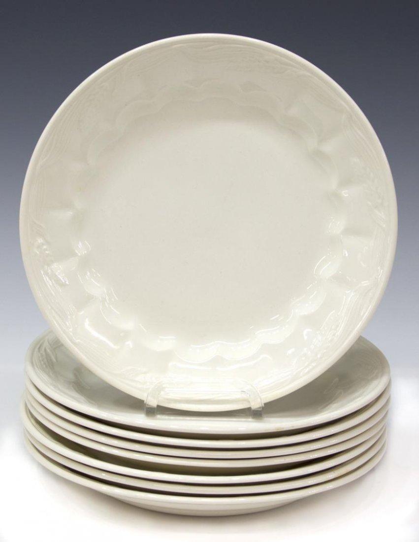 (53) ENGLISH ROYAL CROWNFORD IRONSTONE DINNER SET - 2