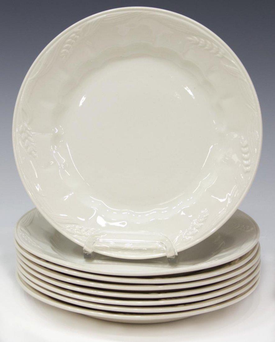 (53) ENGLISH ROYAL CROWNFORD IRONSTONE DINNER SET - 3