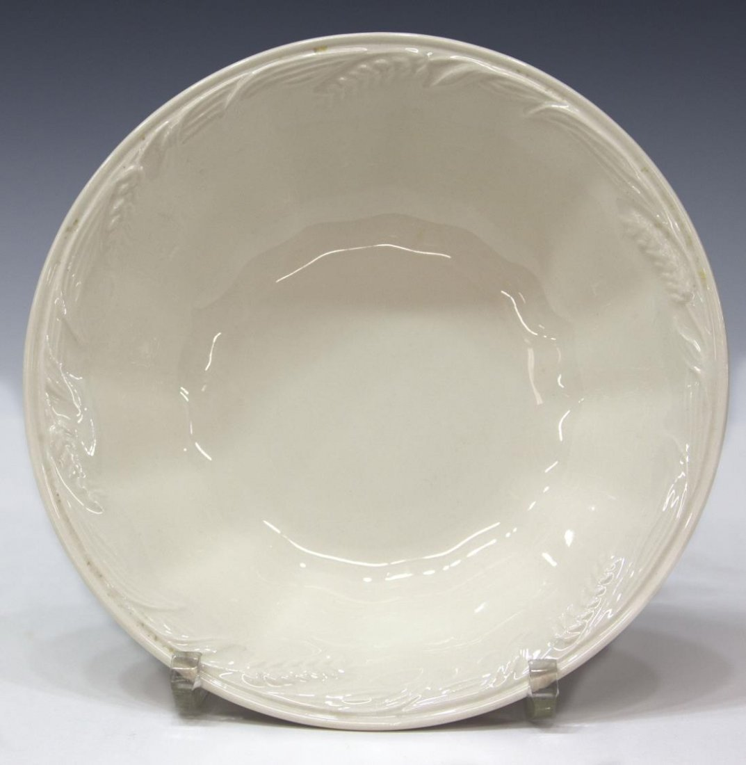 (53) ENGLISH ROYAL CROWNFORD IRONSTONE DINNER SET - 6