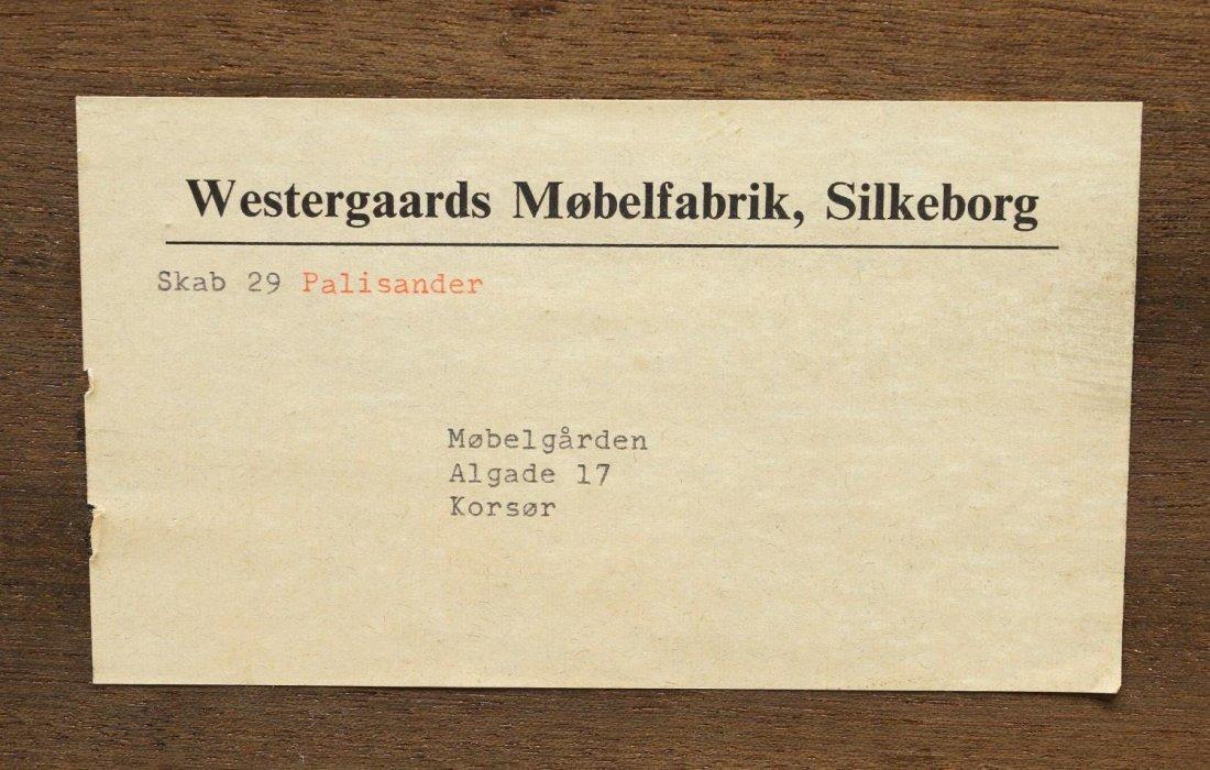 DANISH MID-CENTURY MODERN ROSEWOOD SIDEBOARD - 5