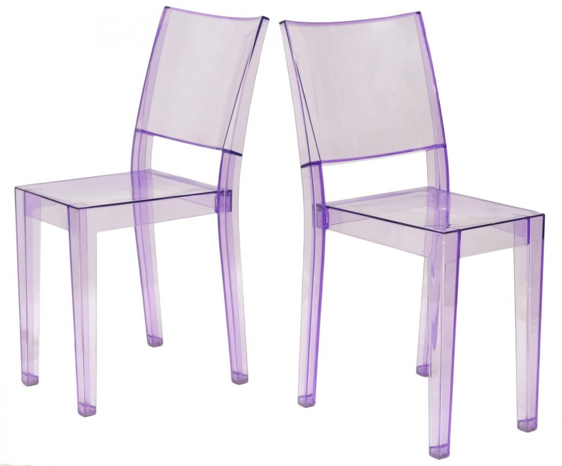(2) LA MARIE CHAIRS, PHILIPPE STARCK FOR KARTELL