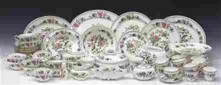 (67) AYNSLEY PEMBROKE BONE CHINA PART DINNER SET