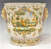 FRENCH OLERYS LAUGIER NEOCLASSICAL FAIENCE PLANTER