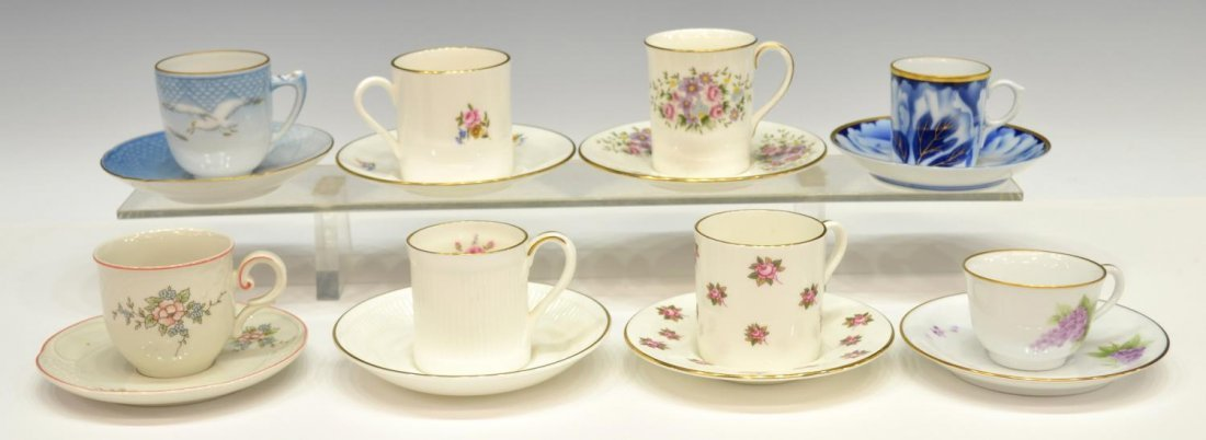 DANBURY MINT CUPS AND SAUCERS OF THE WORLD - 2