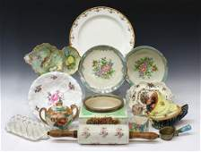 (14) COLLECTION ASSORTED PORCELAIN TABLEWARE