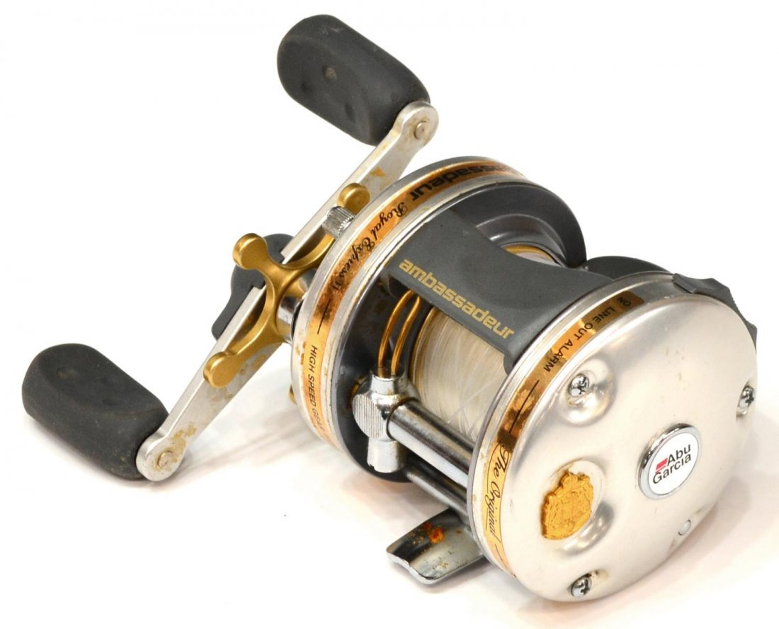 (2) ABU GARCIA & SHAKESPEARE FISHING REELS - 6