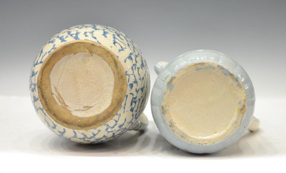 (6) ANTIQUE SALT GLAZE POTTERY TABLEWARE GROUP - 5