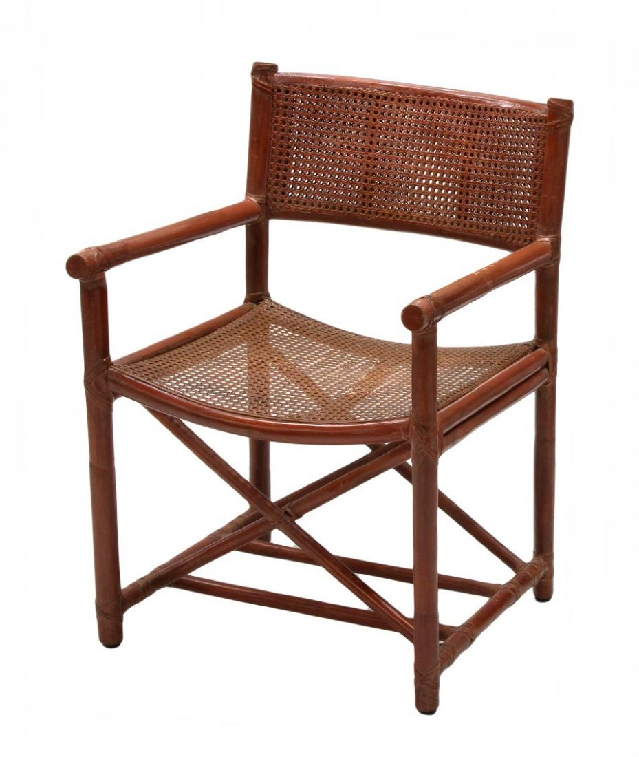 (6) BAMBOO & CANE CHAIRS, McGUIRE SAN FRANCISCO - 2