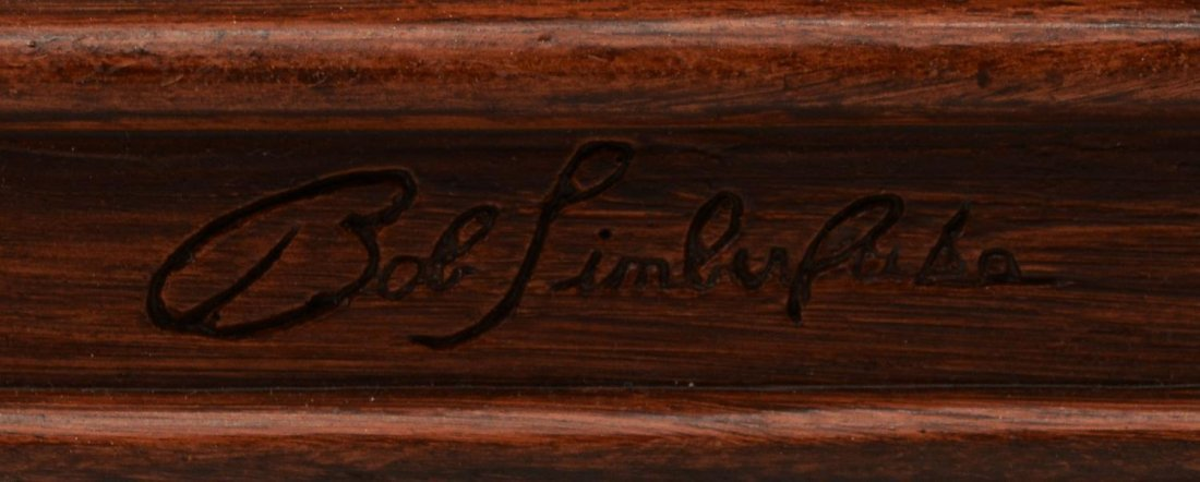 TWO BEAR SLIGH CLOCK, BOB TIMBERLAKE DESIGN - 3