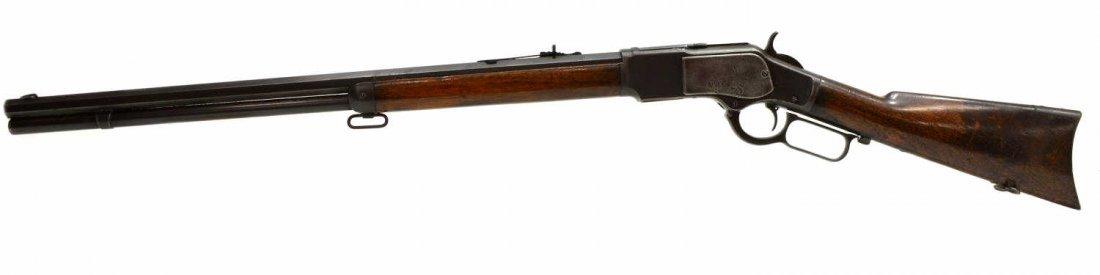 WINCHESTER MODEL 1873 RIFLE, .38 CALIBER, MFG 1887 - 2